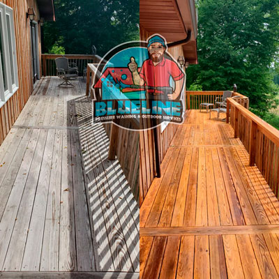 Deck & Fence Cleaning & Staining